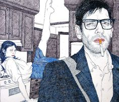 Hope Gangloff is a New-York based artist, doing acrylic paintings and awesome ink illustrations. Description from partfaliaz.com. I searched for this on bing.com/images