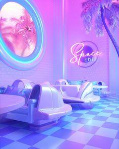 Aesthetic Rooms, Purple Aesthetic, Aesthetic Collage, Retro Aesthetic, New Retro Wave, Retro Waves, Neon Bedroom, Room Decor Bedroom, Pink Lila