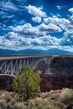Car Rental Taos Nm Rio Grande Gorge Bridge - New Mexico - USA (von Rob DeGraff)