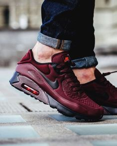 "4,159 Likes, 32 Comments - Airmaxdrops Posted Daily! (@airmaxdrops) on Instagram: ""Nike Airmax 90 x Ultra Essential - These are  - #airmaxdrops"" #ShoesForMen"