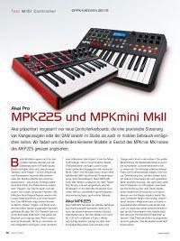 Akai Pro MPK 225 & MPKmini MkII