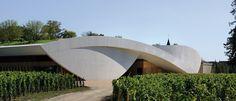 Chateau Cheval Blanc Winery by Agences Elizabeth & Christian de Portzamparc | Inspirationist