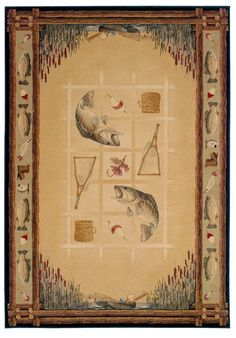 Genesis Lakeside Natural Area Rug - 5 Sizes Available
