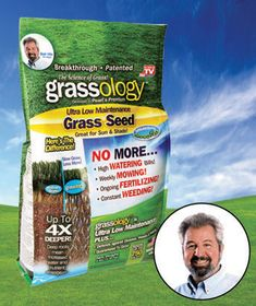 Grassology is the breakthrough in lawn care that everyone is talking about! Developed by Pearl's Premium Lawn Seeds, Grassology gives you a gorgeous lawn that's