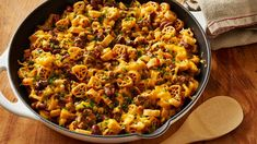 Reinvent taco night with this hearty Mexican-style skillet supper.We bet it willl be a family favorite!