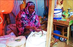Amina is a microcredit client of our partner Kaaba in Somaliland  #microfinance #WholePlanet