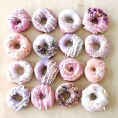 Merendamos? Estos #donuts son demasiado #tumblr y nos inspiran en esta tarde de lunes   #inspiracion #inspiration #tumblr #pinterest #sweet