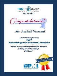 """""""When the awareness of what is achievable brushes your life, your journey has begun.""""  #PMPCertified #Mumbai #achievement #OcwenFinance #SucceedwithyourProjects #ThinkProjectManagementThinkProThoughts"""