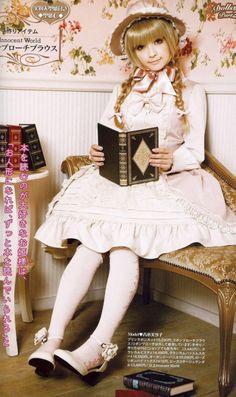 book lover lolita style