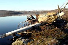 The Hurricane recovered from a lake near Murmansk