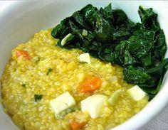 Cantinho Vegetariano: Canjiquinha com Taioba (vegana)