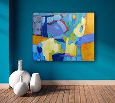 FineArtSeen - View Shine by Valerie Erichsen Thomson. A colourful modern…