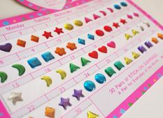 25Things From the '90s That Every Girl Dreamed Of - Earring stickers