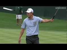 Callaway Staff Pro James Hahn doing it Gangnam Style after making birdie on the 16th hole at the WM Phoenix Open. #Awesomeness #TeamCallaway