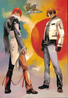 Iori Yagami & Kyo Kusanagi - King of Fighters