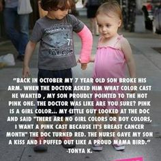 I love how the young people in this world understand more than the adults.
