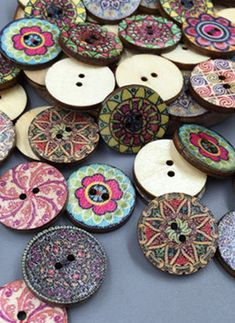 Apparel Sewing & Fabric Qualified 2017 New Handmade Diy Colorful Wood Sewing Painting Decoration Buttons Scrapbooking Car Rocket Ship Shape Mixed Random 50pcs Clear And Distinctive