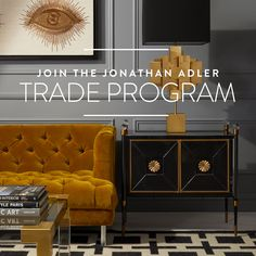 Designers: we do what it takes to make your job easier. Our team of Trade Associates is here to help with your project every step of the way. Jonathan Adler, Coffee Table Books, Mid Century Modern Furniture, Interior Design Inspiration, Home Remodeling, Decorating Your Home, Icon Design, Mid-century Modern, Hollywood Regency