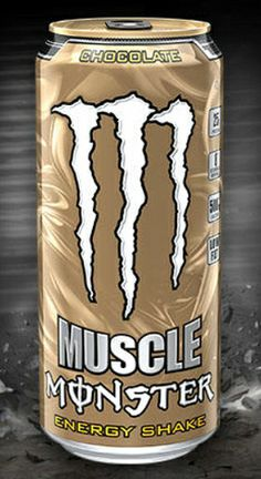 Muscle Monster Energy Shake, Chocolate