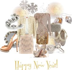 """Happy New Year!"" by mytrollbeads on Polyvore"