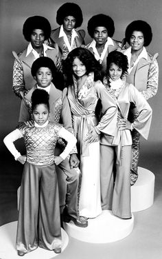 This a classic Jackson family pic. when they had there own TV show in the 70's.