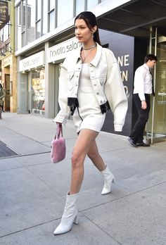 Bella Hadid Is the Reigning Queen Of Model Off-Duty Style Photos   W Magazine