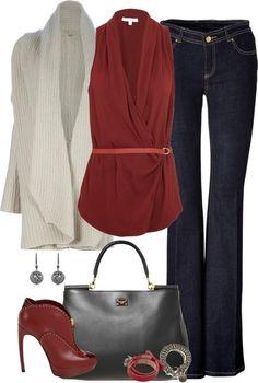 Burgundy and Gray by HotRodden