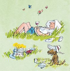 Send a Quentin Blake E-Card Quentin Blake Illustrations, Illustrations And Posters, Happy Birthday Greeting Card, Birthday Cards For Men, Greeting Cards, Chris Riddell, Fathers Day Cards, Roald Dahl, Children's Book Illustration