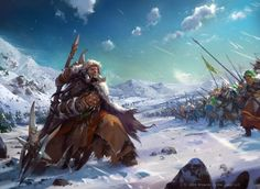Roar of challenge, Viktor Titov on ArtStation at https://www.artstation.com/artwork/roar-of-challenge