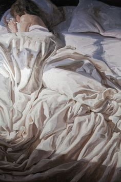 Alyssa Monks Sleep - 2014 Oil on linen 72 x 48 inches