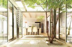 backyard designs – Gardening Ideas, Tips & Techniques Architecture Courtyard, Architecture Design, Beautiful Home Gardens, Beautiful Homes, Interior Garden, Interior And Exterior, Outdoor Rooms, Outdoor Living, Casa Patio
