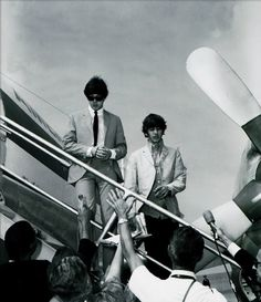 Ringo and Paul.