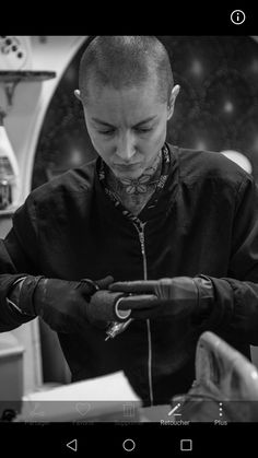 Photos @giannigiardinelli #marlenelecidre #portrait #artwork #tattooartist #tatoueuse #paris #france #black #photo #woman #girl #fashion #style #outfit #visual #mannequin #model #agencemannequin