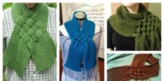 The Celtic Knot Looped Scarf Free Knitting Pattern is specially designed to cover the neck and chest. It will be fun to wear all winter time. Knitting Paterns, Knit Patterns, Free Knitting, Scarf Knots, Loop Scarf, Crochet Scarves, Knit Crochet, Celtic Knot, Diy Clothes