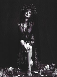 goth gothic fashion  style black women lady girl women…