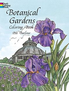 Top 10 Flower Garden Adult Coloring Books - Black Flowers