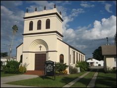 St. Margaret's Catholic Church in Clewiston, FL.  - I lived here for a bit.