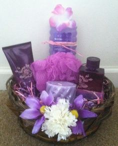 Far Away Bath Gei, Lotion, & Perfume Gift Basket | edd~Exotic ...