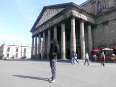 Visitando el teatro Degollado