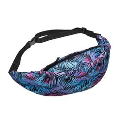 Shoresu Waist Bag Womens Vintage Bohemian Style Waist Packs C Printed Belt Bag Chest Pouch Coffee