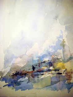 Lars Ståhl - #watercolour #abstract