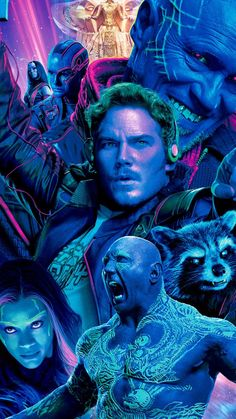 Guardians of the Galaxy Vol. 2 is unfortunately not as good as the first one – it is a watchable and forgettable superhero movie with weak script and villains. Marvel Art, Marvel Heroes, Marvel Characters, Marvel Dc Comics, Marvel Movies, Gardians Of The Galaxy, Guardians Of The Galaxy Vol 2, Star Lord, Amazing Hd Wallpapers