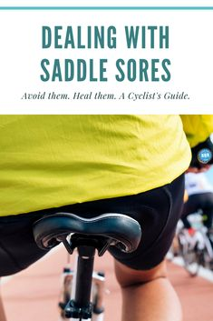 Got saddle sores? Want to avoid them? This article shows cyclists what to do in both cases.  #cyclingtips #cyclingadvice #cyclingmyths #cycling #bicycling #bicycle #thecyclingbug #roadbikerider