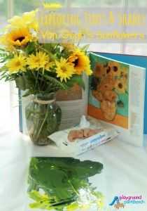 Tints and Shades with Van Gogh's Sunflowers