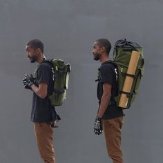 'The Peloton' Rolltop Backpack - Store Life Behind Bars Backpack Store, Diy Backpack, Travel Backpack, Travel Bags, Rucksack Backpack, Travel Packing, Travel Ideas, Travel Inspiration, Backpacking Gear