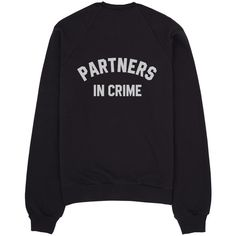 Partners in crime ($35) ❤ liked on Polyvore featuring tops, shirts, sweatshirt, print shirts, pattern tops, pattern shirt and print tops