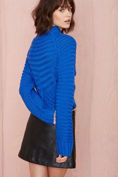 Christine Crop Sweater | Shop Sweaters at Nasty Gal