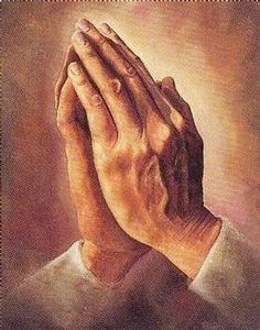 Praying, I am an Atheist, so I see no need in praying to something I don't believe in.                                                                                                                                                      More