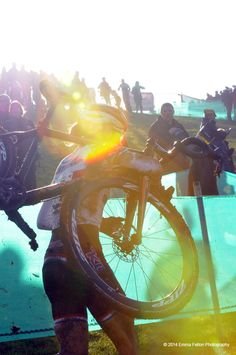 Helen Wyman, British National Cyclo-cross Champion 2014.