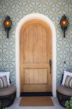Revive the decorative design of your walls and floors with the best of Moroccan Tiles Know and Save Up To Off! Gold Interior, Luxury Interior Design, Best Interior, Tile Design, Door Design, Tiled Staircase, Moroccan Tiles, Farmhouse Kitchen Decor, Interiores Design